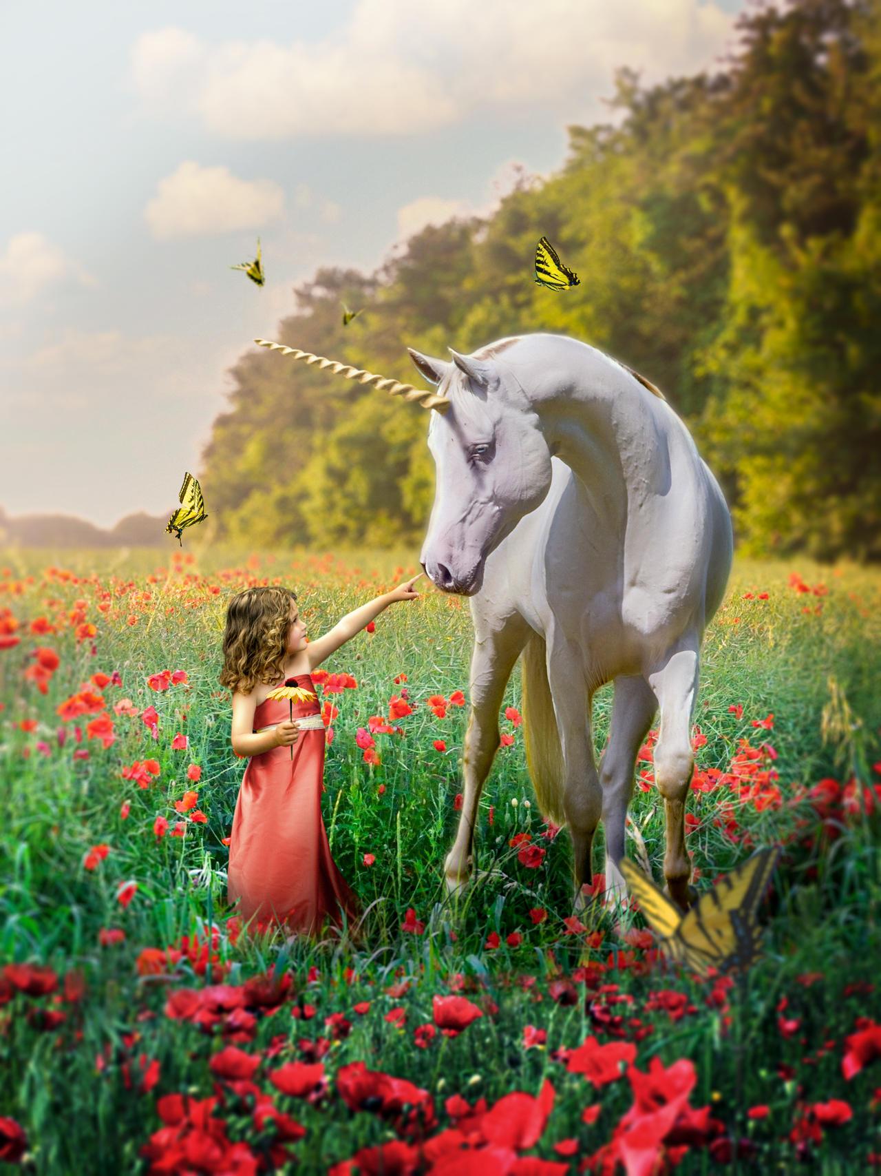 Child Unicorn