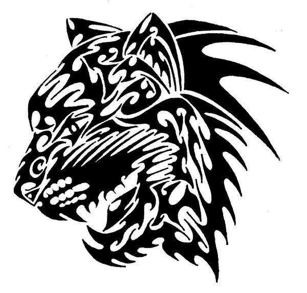 Tribal Tiger By Ruttan On Deviantart: Tribal Tiger By IOUDZ On DeviantArt