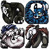 Icons round 2 by Stitchy-Face