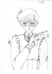 Code name wa sailor V Kaitou Ace by Isack503