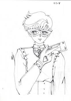 Code name wa sailor V Kaitou Ace