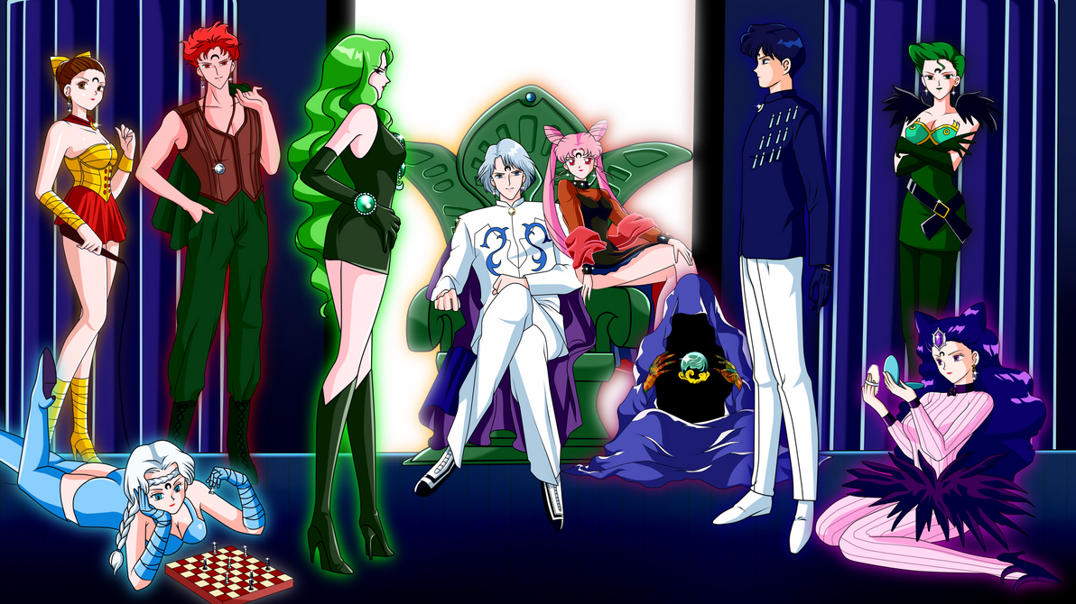 Which Sailor Moon Baddie Group Is Your Favourite My Vote Goes To