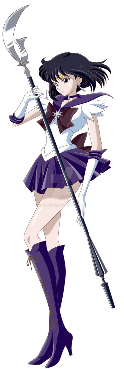 Sailor Saturn Crystal Version by Isack503 on DeviantArt