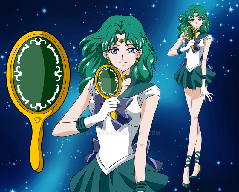 Sailor Neptune- Sailor Moon Crystal by Isack503