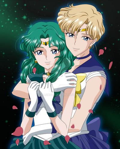 Uranus ang Neptune Sailor Moon Crystal III by Isack503