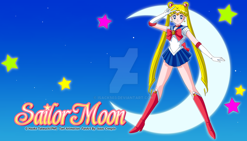 Sailor Moon Classic Wallpaper 1 by Isack503