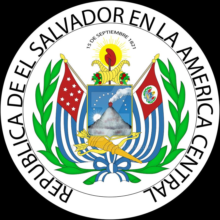 Escudo de El Salvador 1965-1912 by Isack503