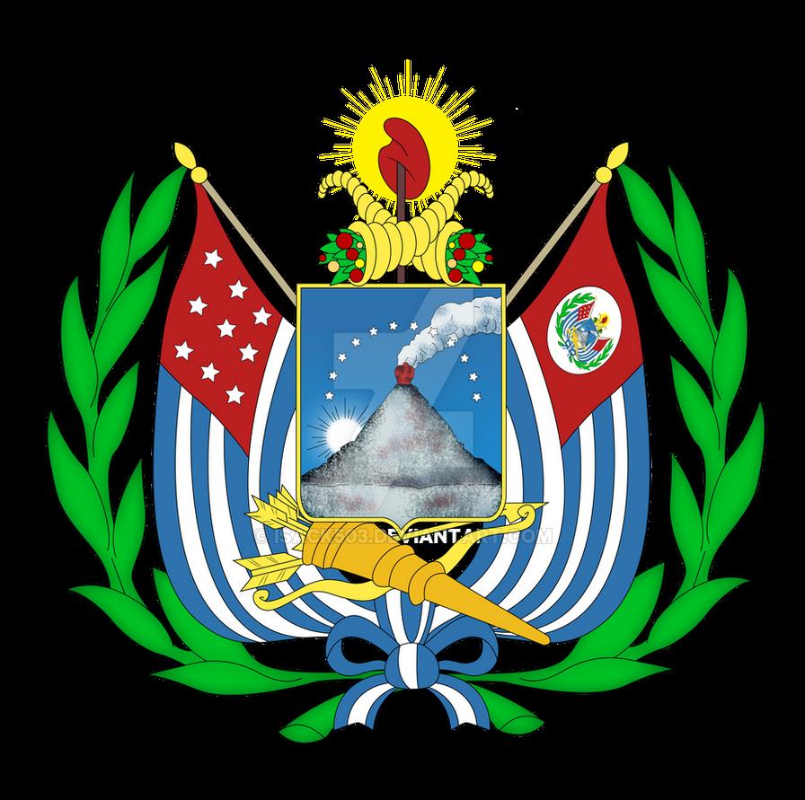Escudo de El Salvador 1865 by Isack503