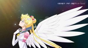 Eternal Sailor Moon into the Star Zero of Sagittar