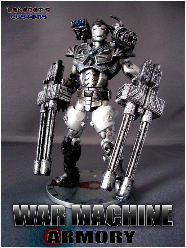 War Machine Armory Portrait by Lokoboys