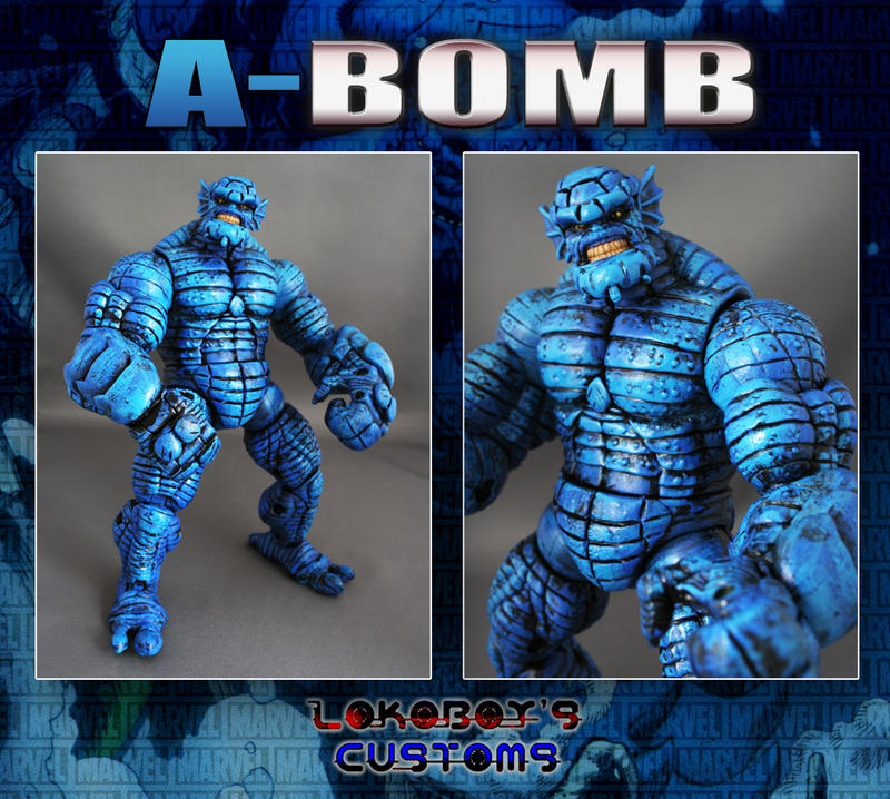 A Bomb Vs Abomination A-Bomb the new Abomination by