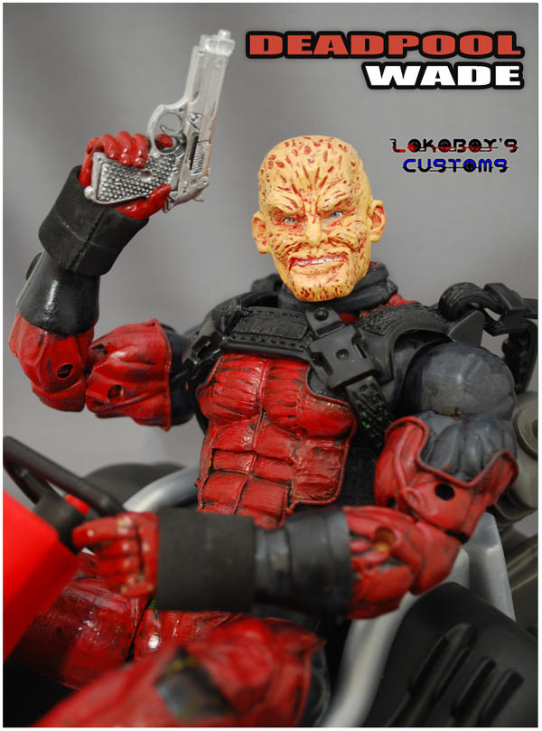 Wade Wilson No Mask | www.imgkid.com - The Image Kid Has It!