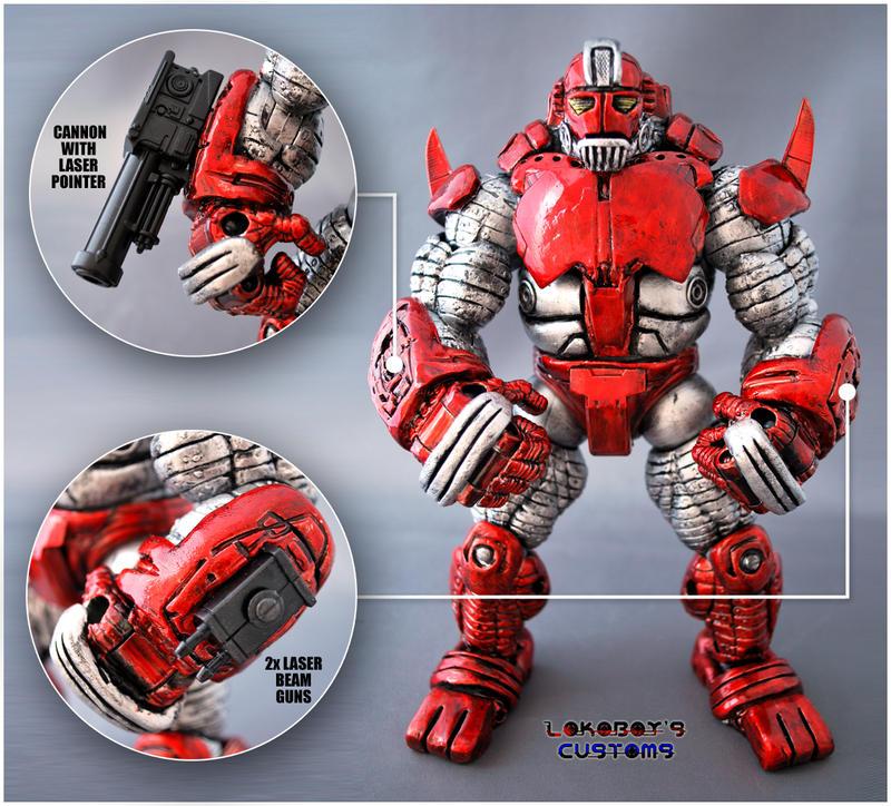 Ultra Dynamo Weaponry System by Lokoboys