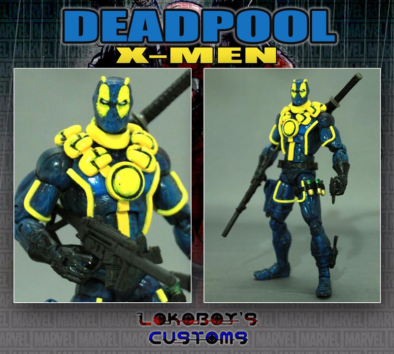 Men Deadpool Drawings Deadpool x-men by lokoboysX Men Deadpool Drawings