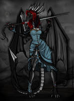 Dragoness by AtropaGrimm
