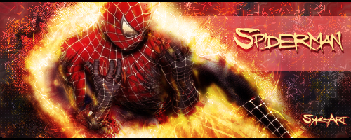 Spiderman - Fire by Syk-Art on DeviantArt