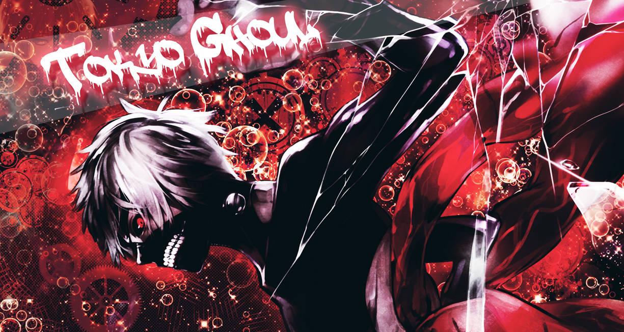 Tokyo Ghoul : Kaneki Ken Wallpaper Red by iAmNiwo on ...