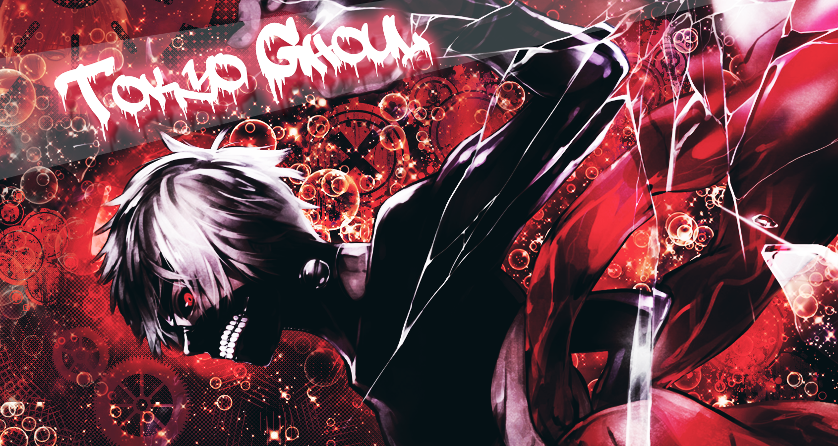Tokyo Ghoul Ken Kaneki Wallpaper: Tokyo Ghoul : Kaneki Ken Wallpaper Red By IAmNiwo On