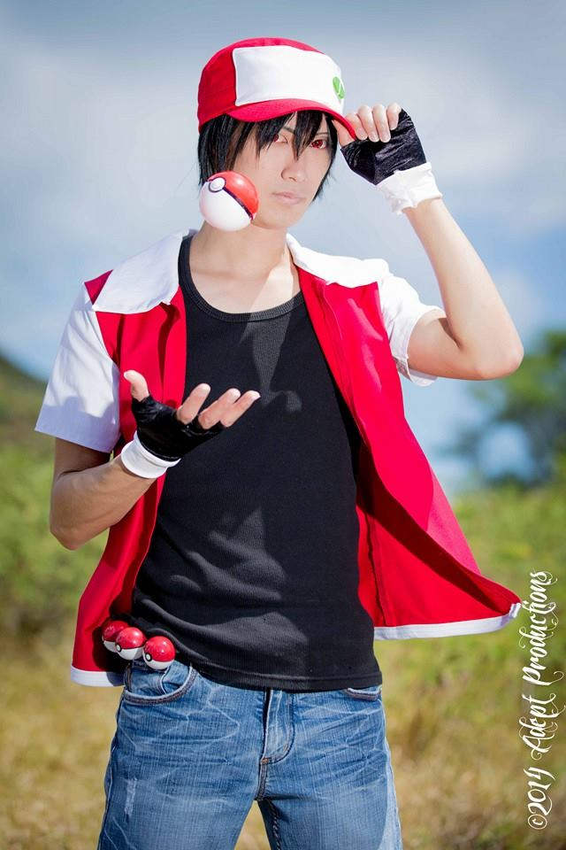 trainer red cosplay by takacosplay on deviantart