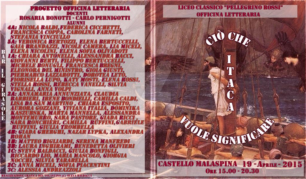 Cio' che Itaca vuol significare - Fuori Volantino by Kloddy44