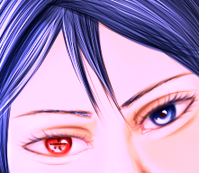 Mukuro's eyes. by Murasaki-no-Orenji