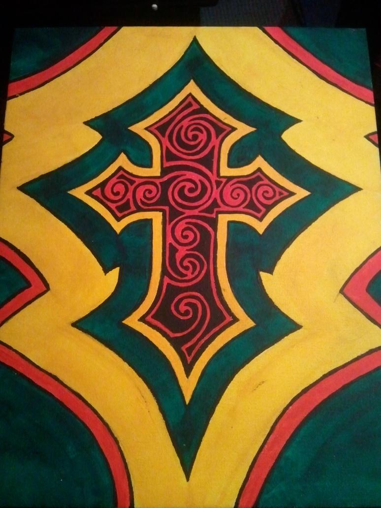 My cross by BrentTew
