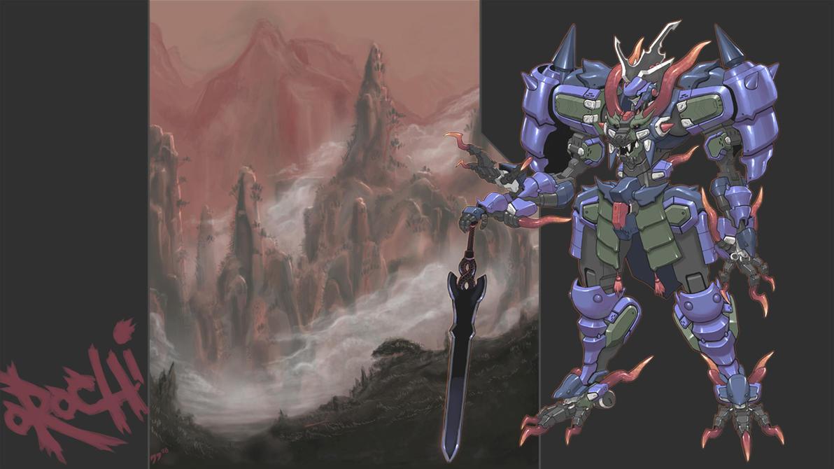 Orochi King by grid-gunner