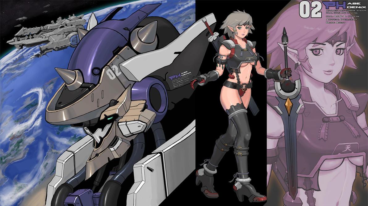 Mercenary by grid-gunner