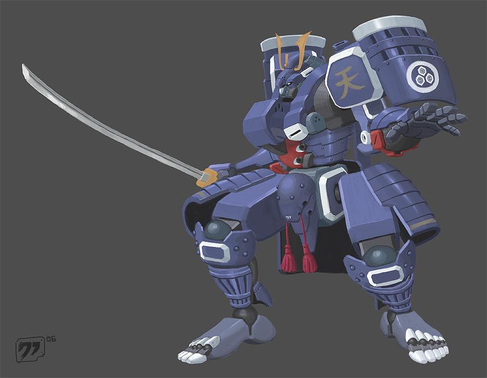 Heavenly Armor by grid-gunner