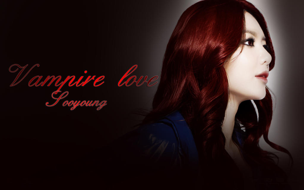 Sooyoung - Vampire love wallpaper by yuka55202565 on ... Vampire Love Wallpaper