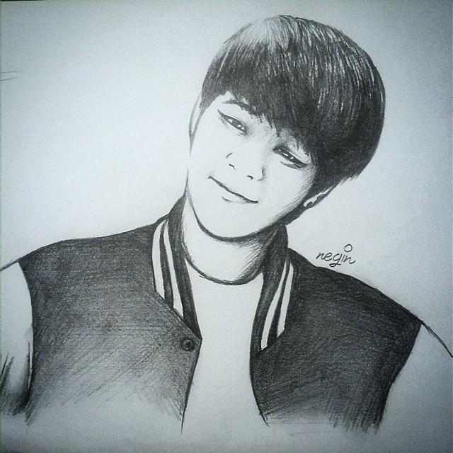 BTS Jimin fan art by yuka55202565