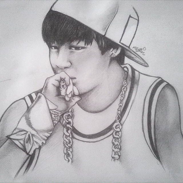 BTS Jimin fan art 2 by yuka55202565