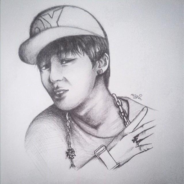 BTS Jimin fan art 3 by yuka55202565