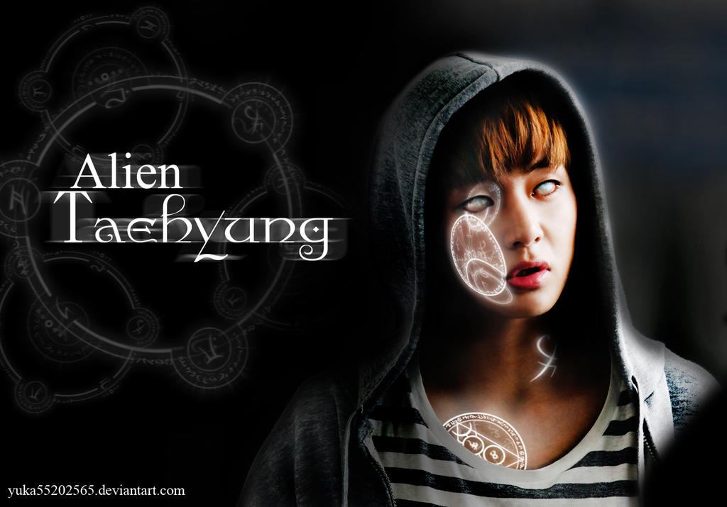 Alien TaeHyung Wallpaper by yuka55202565