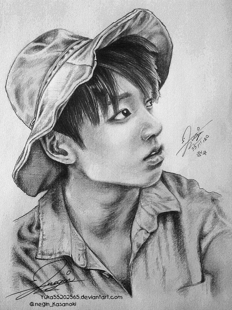 Jungkook Bts Drawings: BTS Jungkook FanArt By Yuka55202565 On DeviantArt