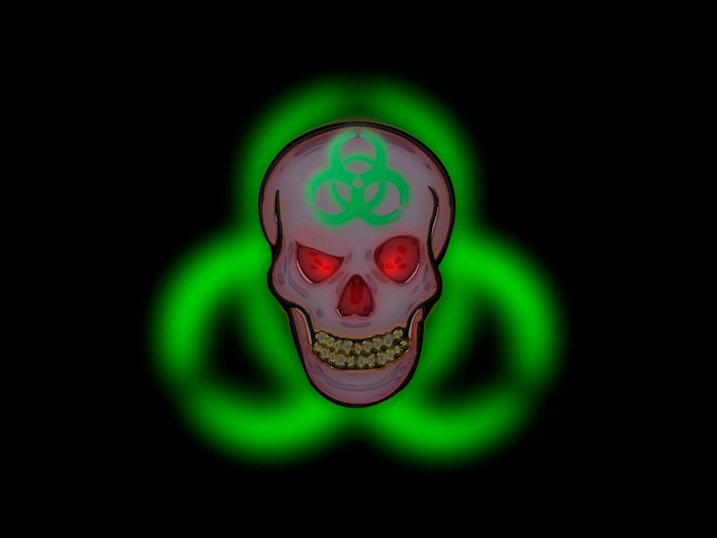 biohazard skull - photo #15