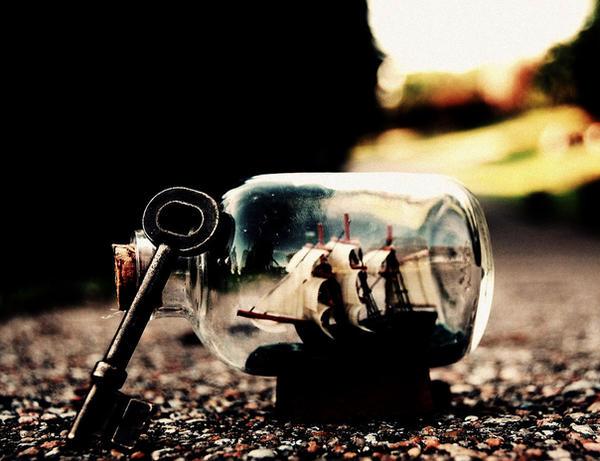 Locked Bottle by CocoLovesChanel
