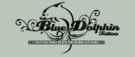 Blue Dolphin Tattoo