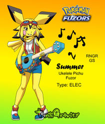 PokeFuzor -Pichu Summer- by TwiliGravity