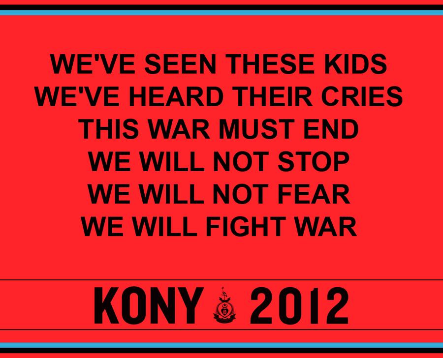 KONY 2012 by Yanoda