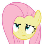 Fluttershy Unamused Face