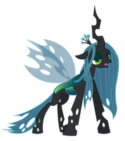 Sated Queen Chrysalis by Yanoda
