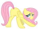 Fluttershy proudly showing her...