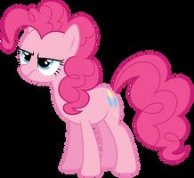 Un-amused Pinkie Pie by Yanoda