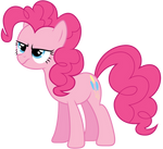 Un-amused Pinkie Pie