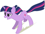 Twilight enjoying the Anti-Gravity Spell.