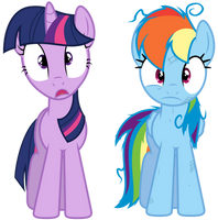 Shocked RD and Twi by Yanoda