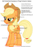 MLP-VC on Things to Avoid When Vectoring