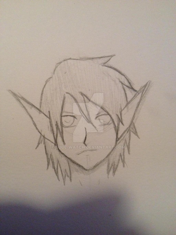 OC with elf ears by Soul-watch