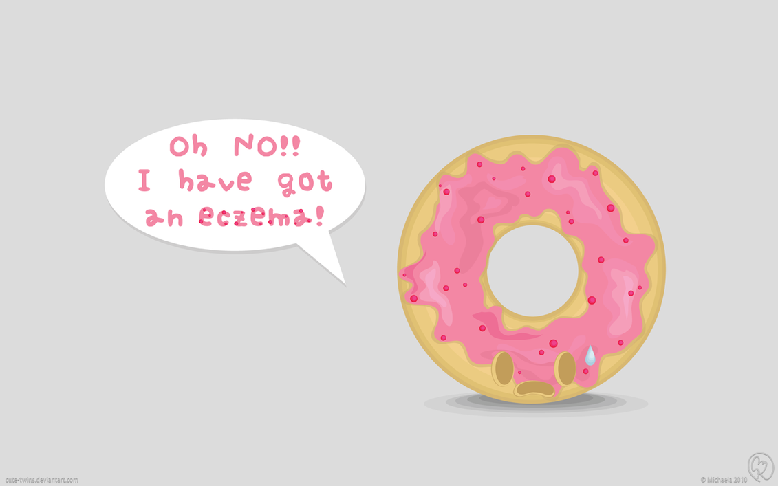 Beware Of Donuts Eczema By Cute Twins